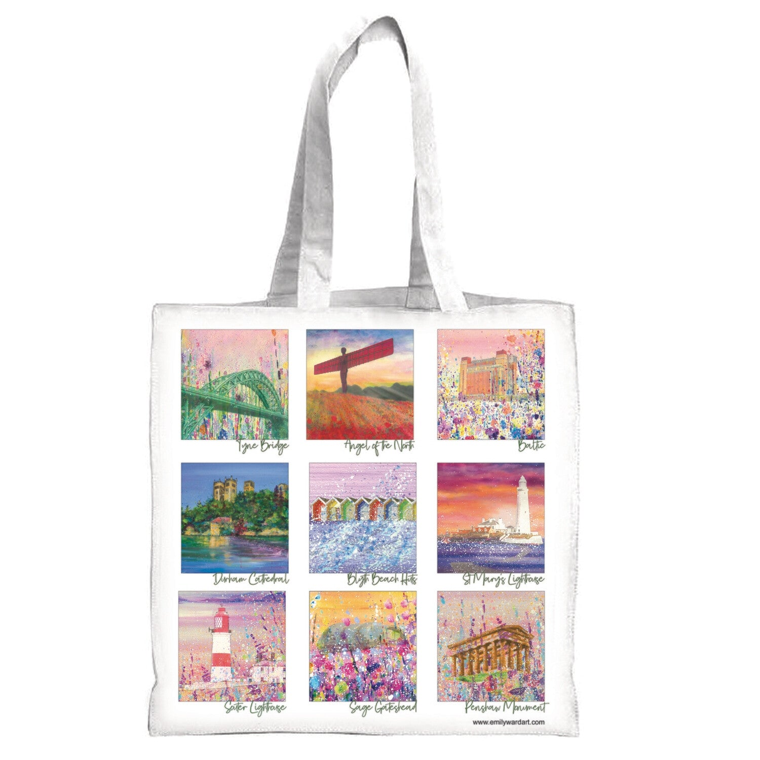 Emily Ward Art Cotton Canvas Bag
