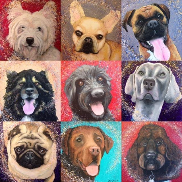 Emily Ward Art Pet Portraits