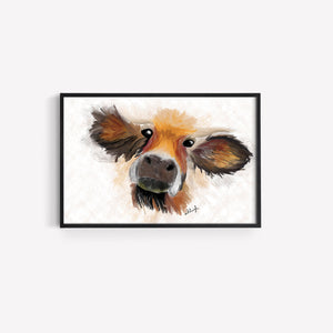 Echo Art Highland Cow Print