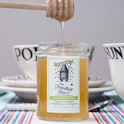 The Travelling Bee Company Lime Blossom Honey