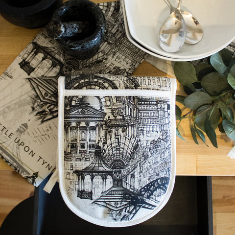 Rhianne Sian Designs Newcastle Upon Tyne Double Oven Gloves