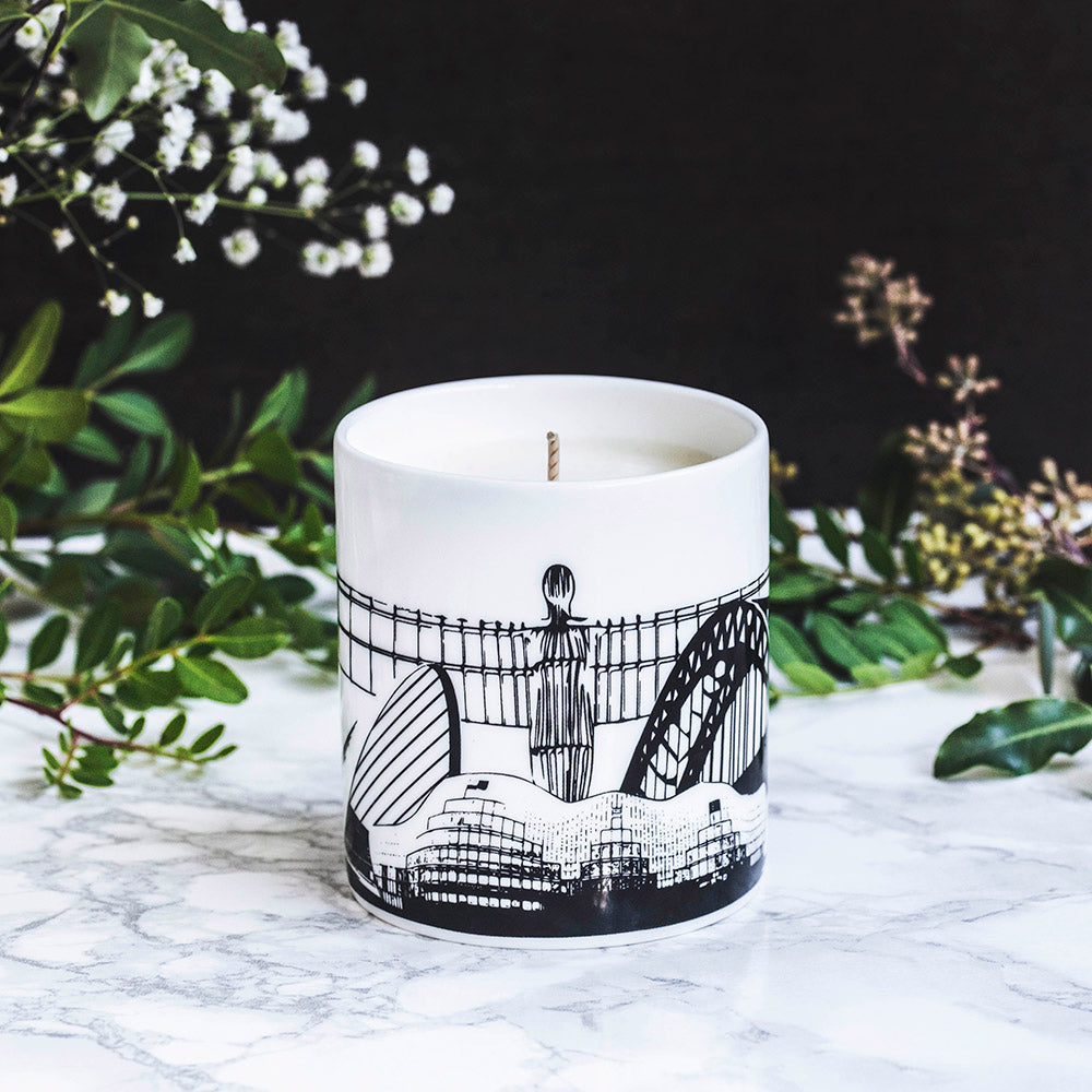 Powder Butterfly Luxury Newcastle Hand-poured Candle