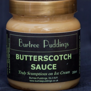 Burtree Puddings Butterscotch Sauce