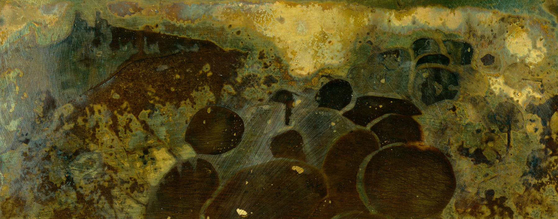 Ord Originals Dunstanburgh Castle on brass