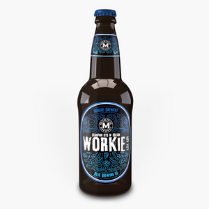 Blue Brewing Company Workie Bitter (12 x 500ml)