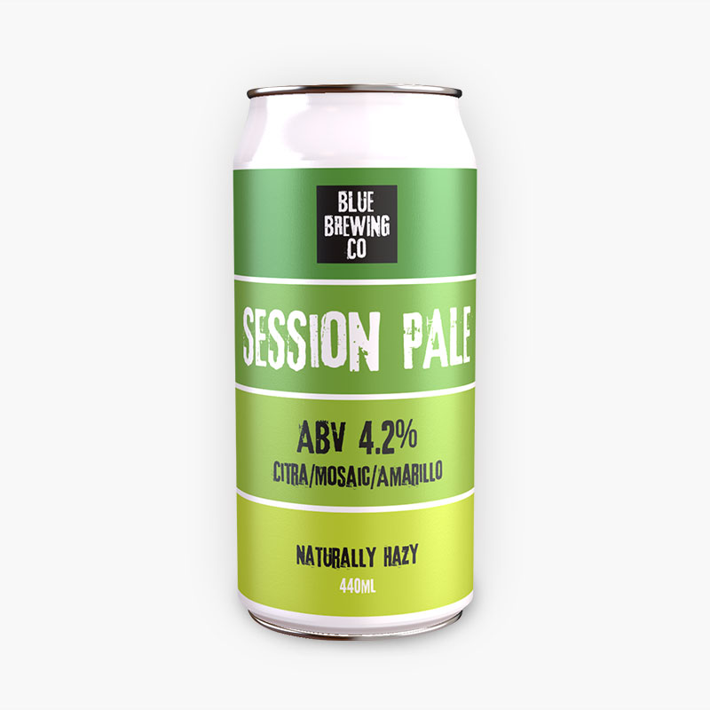 Blue Brewing Company Session Pale Ale (12 x 440ml)
