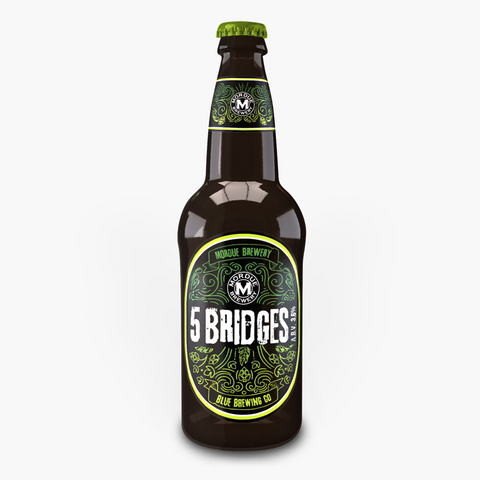 Blue Brewing Company Five Bridges Pale Ale (12 x 500ml)
