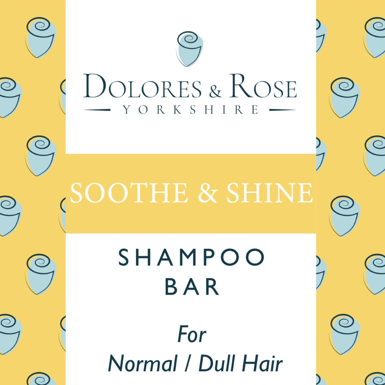 Dolores & Rose Soothe and Shine Shampoo Bar