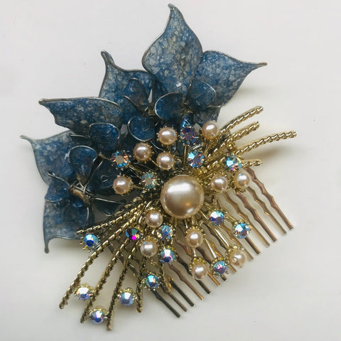 Lovage and Lace Vintage 1950s hair comb