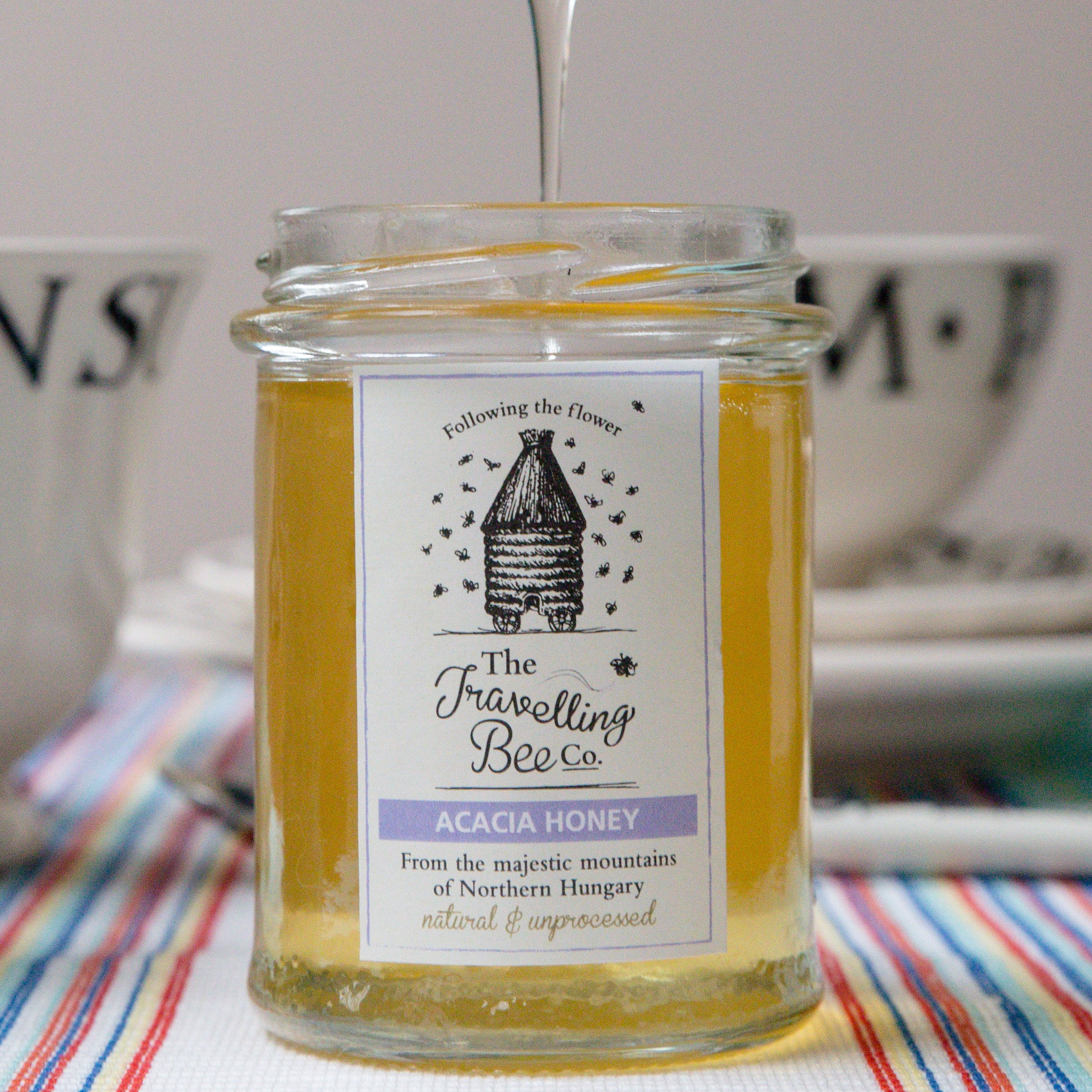 The Travelling Bee Company Acacia Honey