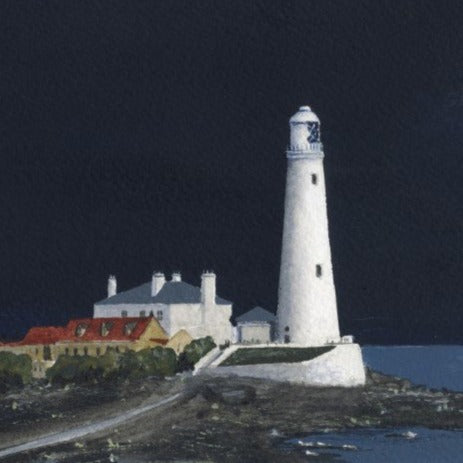Ray Stephenson Print St Mary's Lighthouse