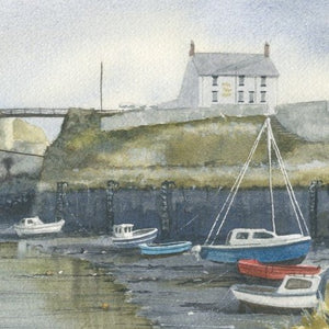 Ray Stephenson Print The King's arm, Seaton Sluice