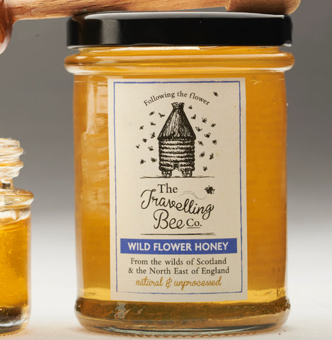 The Travelling Bee Company Wild Flower Honey