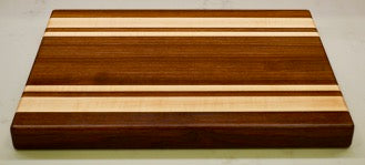 Hardwood edge grain cutting board