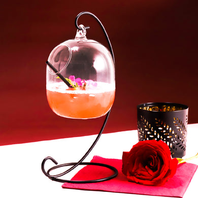 Creative Bird House Cocktail Glass