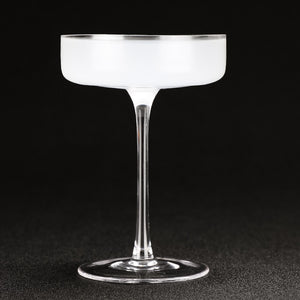 Flat Cocktail Glasses - 4 pack