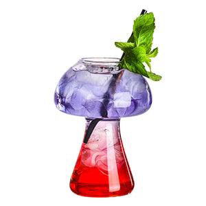 Mushroom Cocktail Glass - 4 pack