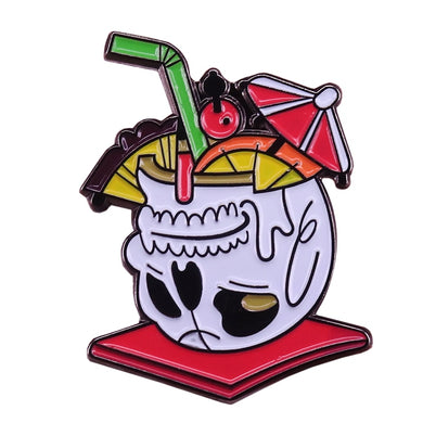 Tropical Mug Pin