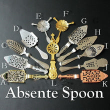 Load image into Gallery viewer, Selection of Absinthe Spoons