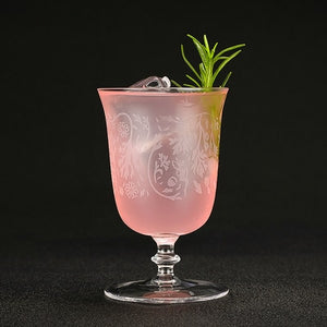 Vintage Style Classic Cocktail Glassware