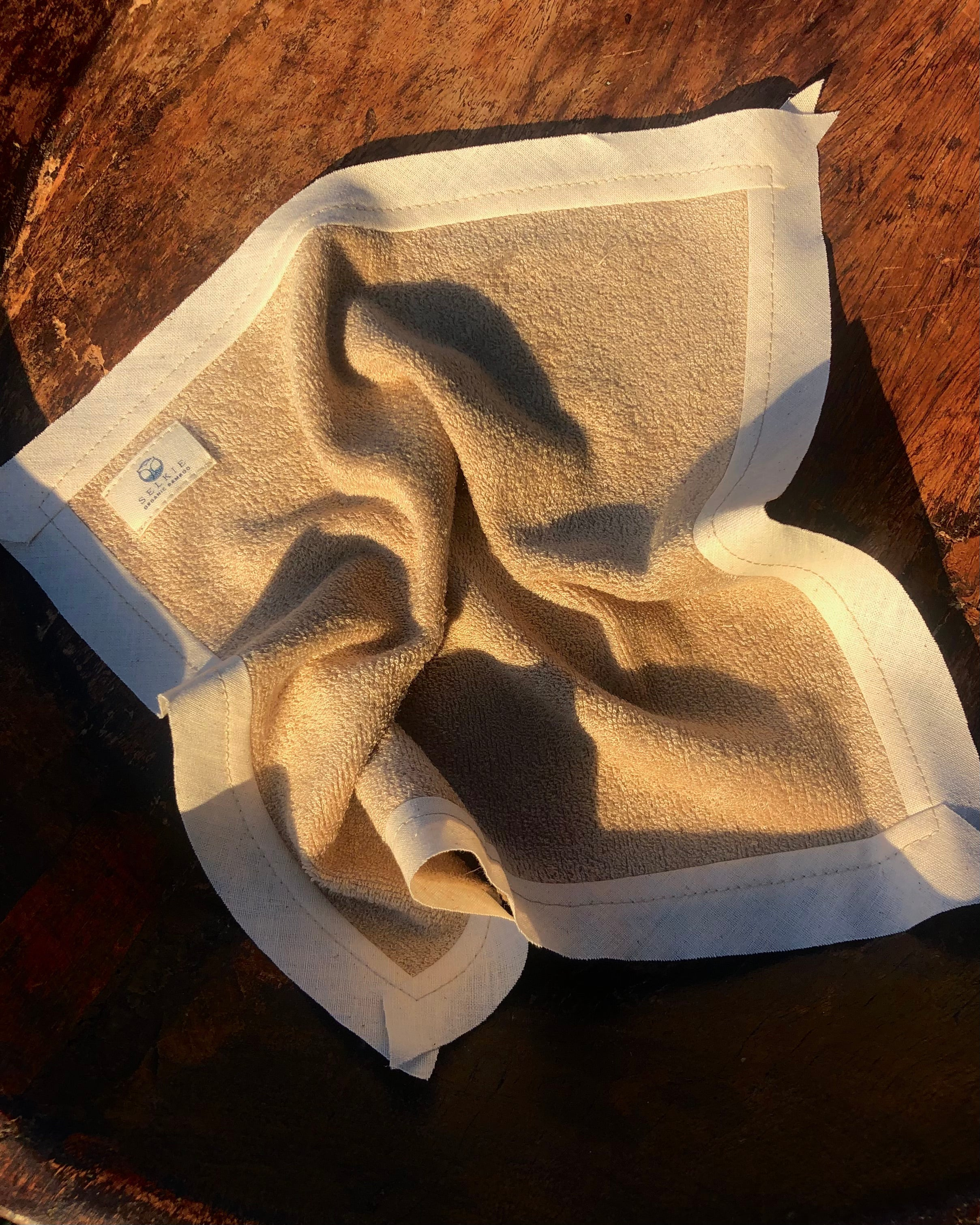 *Organic Bamboo Face Cloths Terry