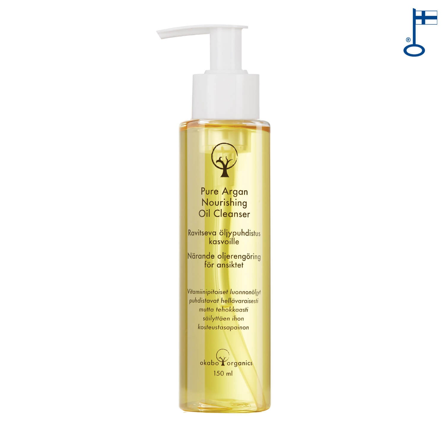 Pure Argan Nourishing Oil Cleanser, 150 ml