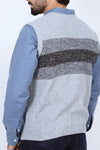 Grey Sleeveless Sweater