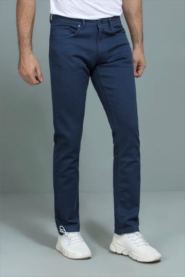 Navy Casual Pants