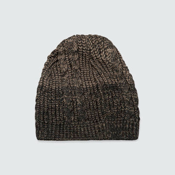 Black Micro Knitted Beanies