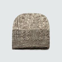 Grey Micro Knitted Beanie
