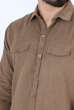 Casual Shirt FS Brown For Men