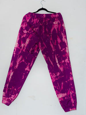 Hand Bleached Pink/Purple Fashion Track pants