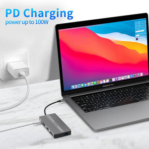 OTHA T7 Mini Android Video DLP Projector 200ANSI Lumens, Bluetooth WiFi Pocket 3D Projector, Support 1080P HDMI USB TF, Projectors for Home Cinema