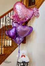 Load image into Gallery viewer, Teddy Bouquet - 1/2 Dozen Balloons