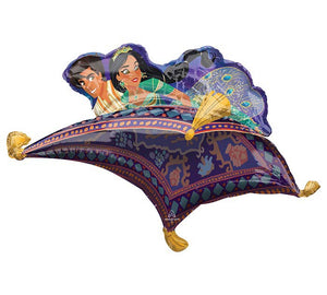 "42"" Aladdin & Jasmine Magic Carpet Ride"