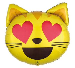 "22"" Cat Love Emoticon"