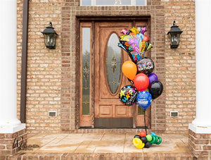Happy Birthday Themed Balloon Bouquet
