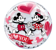 "Load image into Gallery viewer, 22"" Mickey and Minnie Mouse Love"