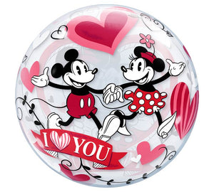 "22"" Mickey and Minnie Mouse Love"