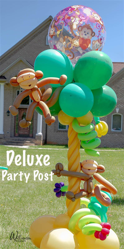 Monkey Love Party Post