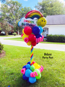 Rainbow & Sunshine Birthday Party Post