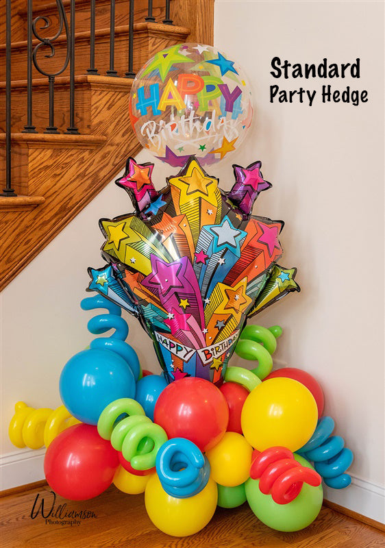 Happy Birthday Party Hedge