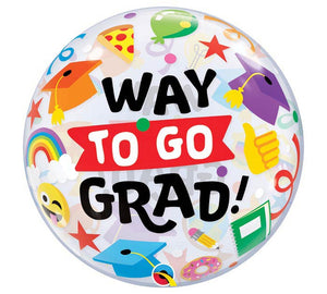 "22"" Way to Go Grad Theme"
