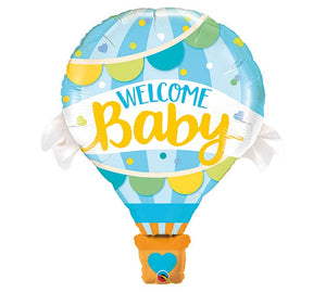 "42"" Welcome Baby Hot Air Balloon"