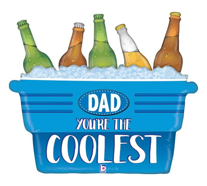 "33"" Dad's the Coolest Cooler"