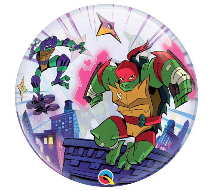 "22"" TMNT bubble balloon"