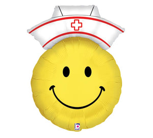 "28"" Nurse Smiley Face"