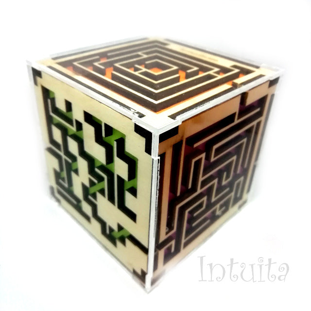 handmade cube labirynth for him for Christmas in Intuita Shop
