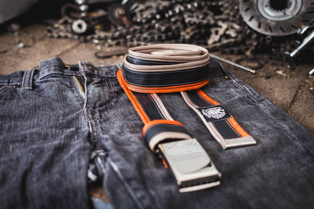 recycled belts for men for Christmas in Intuita