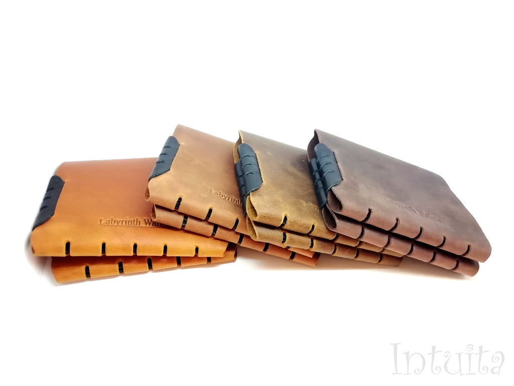 Seamless Leather Wallets For Him For Christmas in Intuita